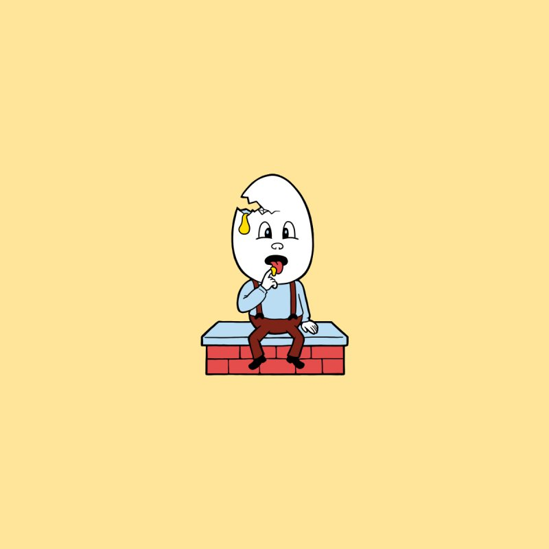 Zombie Dumpty Accessories Sticker by Lupi Art + Illustration