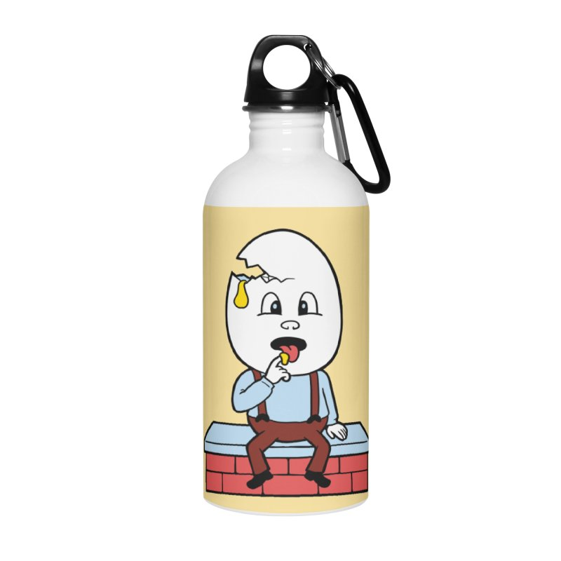 Zombie Dumpty Accessories Water Bottle by Lupi Art + Illustration