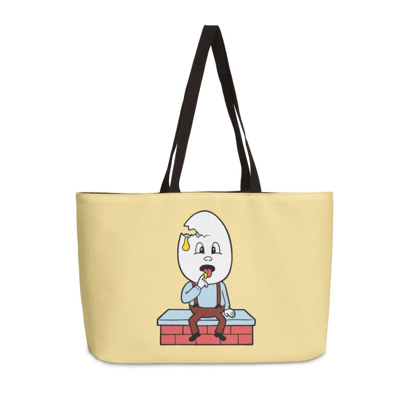 Zombie Dumpty Accessories Weekender Bag Bag by Lupi Art + Illustration
