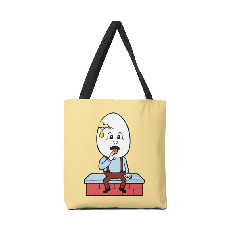 Zombie Dumpty Accessories Tote Bag Bag by Lupi Art + Illustration