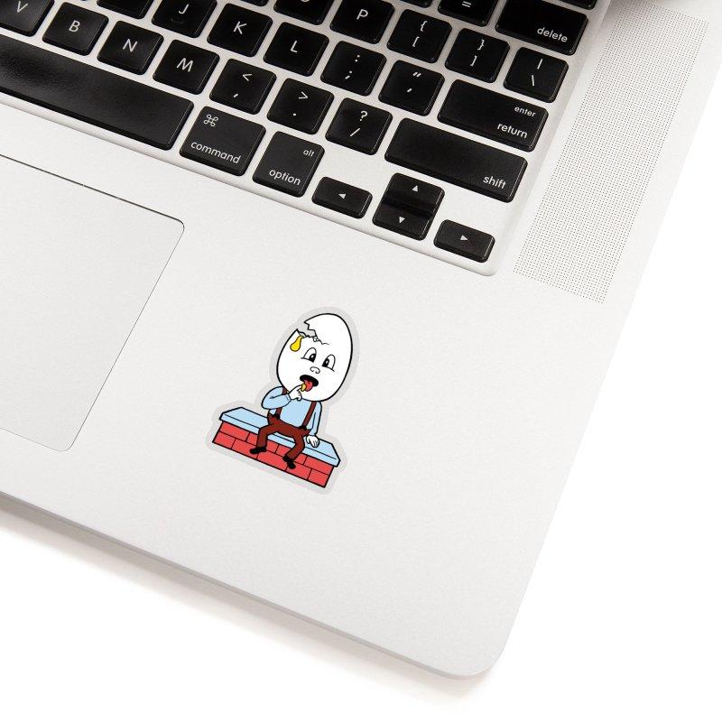 Zombie Dumpty Accessories Sticker by Lupi Art + Illustration