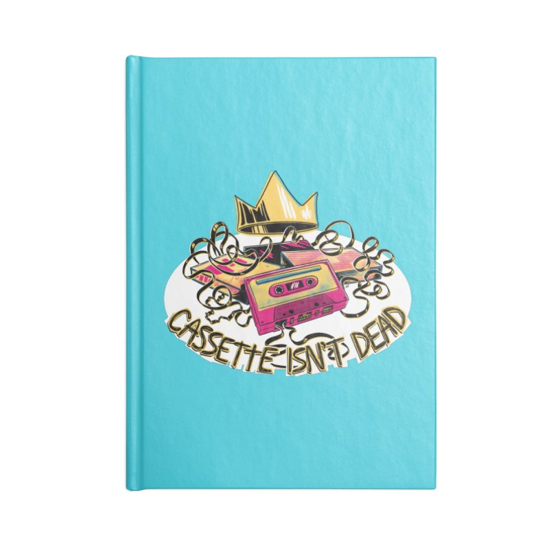 Cassette isn't Dead Accessories Notebook by Lupi Art + Illustration