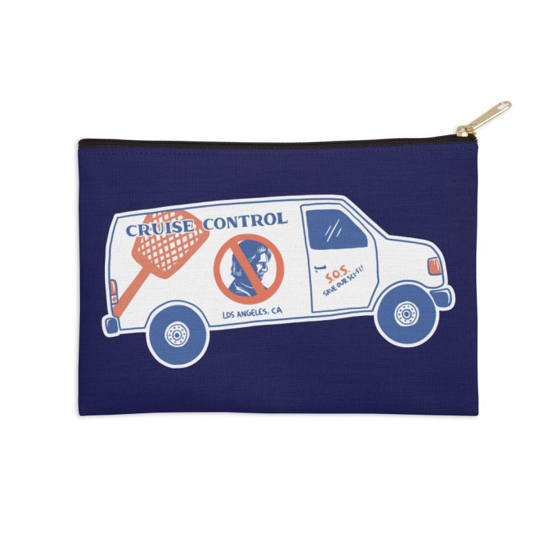 Cruise Control Accessories Zip Pouch by Lupi Art + Illustration