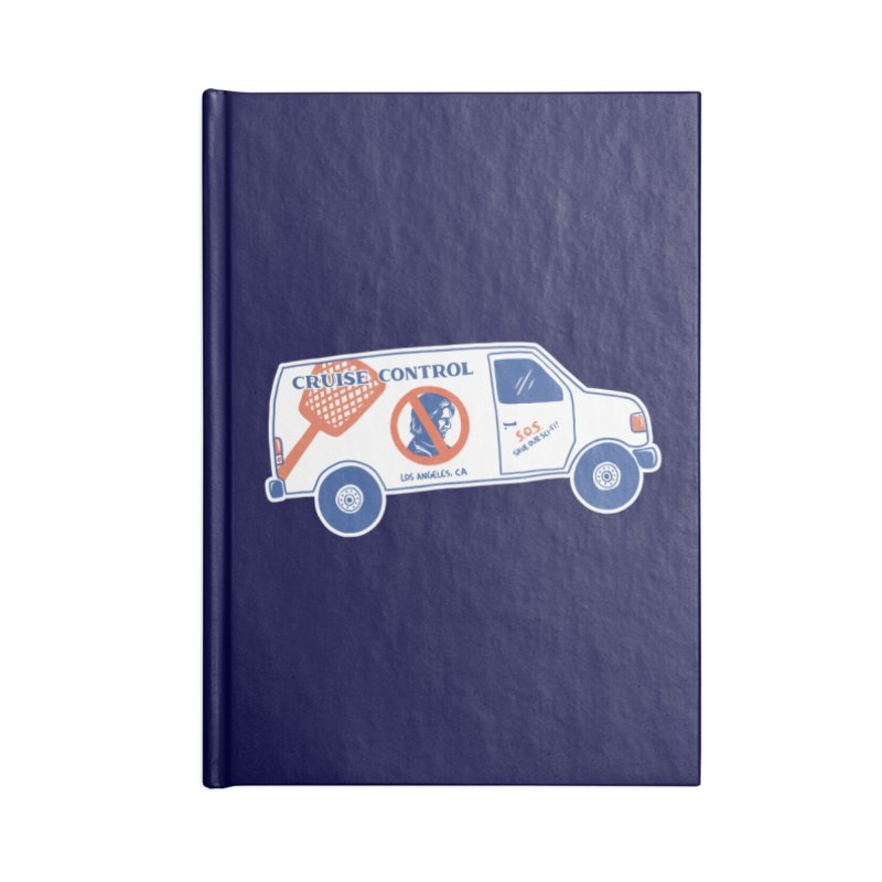 Cruise Control Accessories Notebook by Lupi Art + Illustration