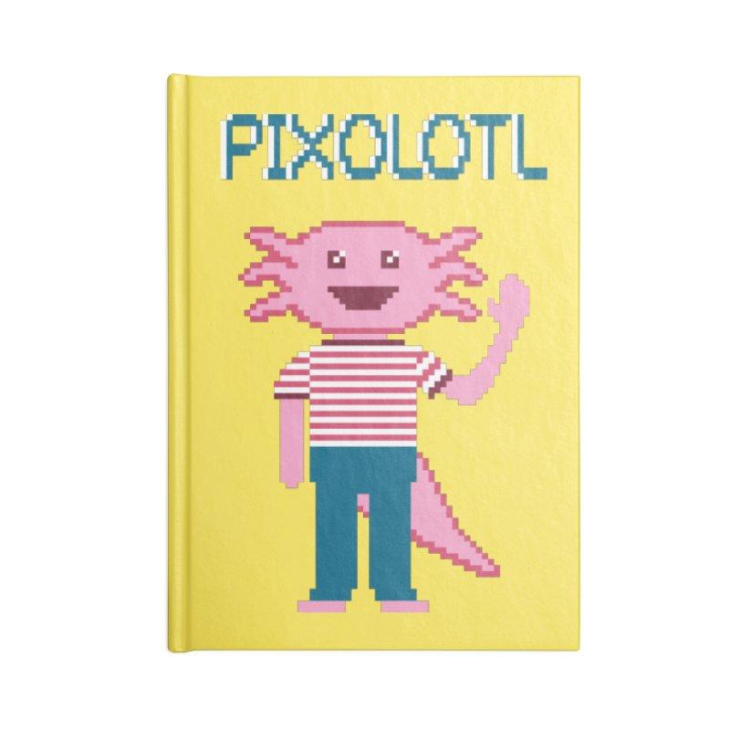 Pixolotl Accessories Notebook by Lupi Art + Illustration