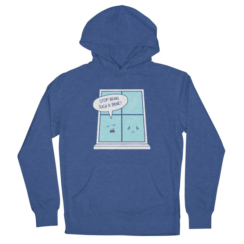 A Pane in the Glass Men's Pullover Hoody by Lupi Art + Illustration