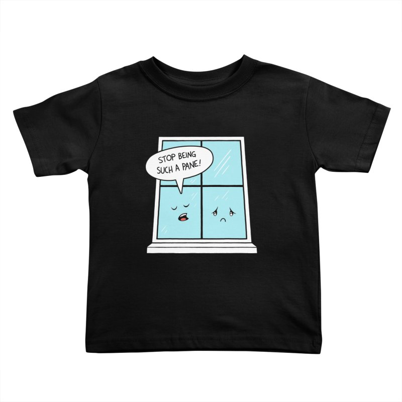 A Pane in the Glass Kids Toddler T-Shirt by Lupi Art + Illustration