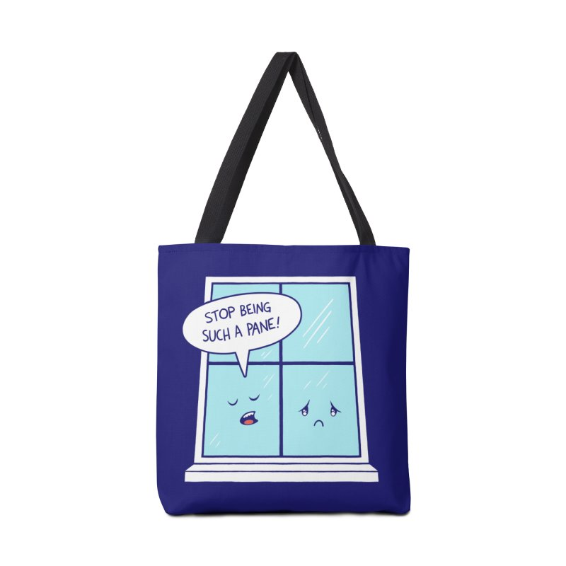 A Pane in the Glass Accessories Bag by Lupi Art + Illustration