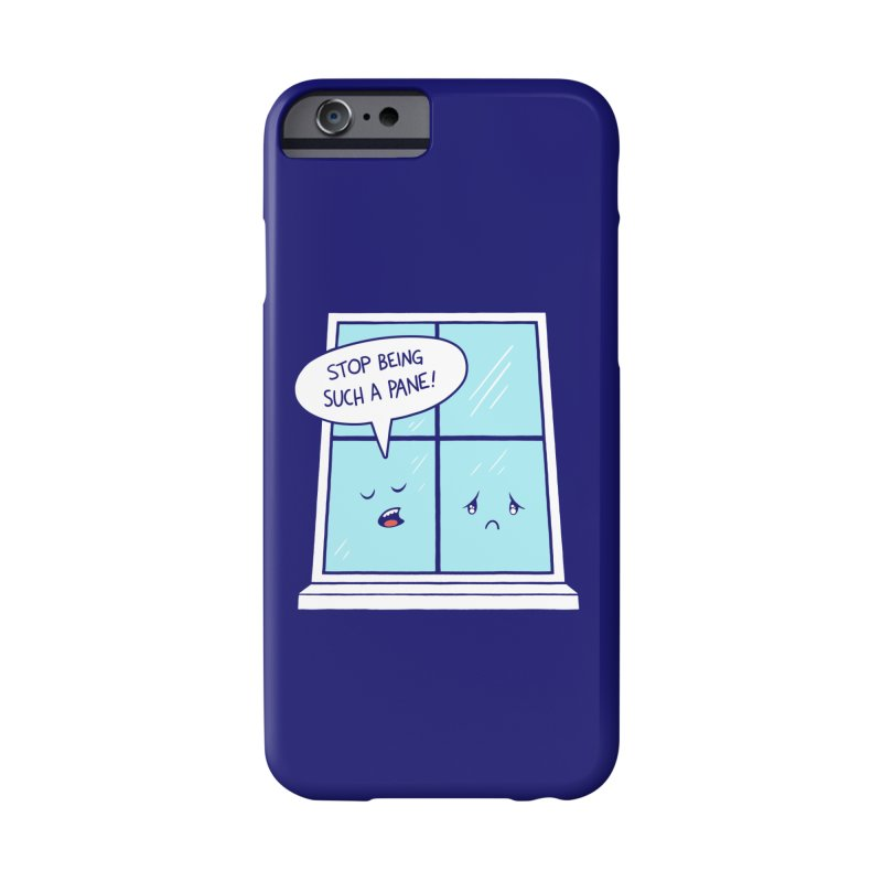 A Pane in the Glass Accessories Phone Case by Lupi Art + Illustration