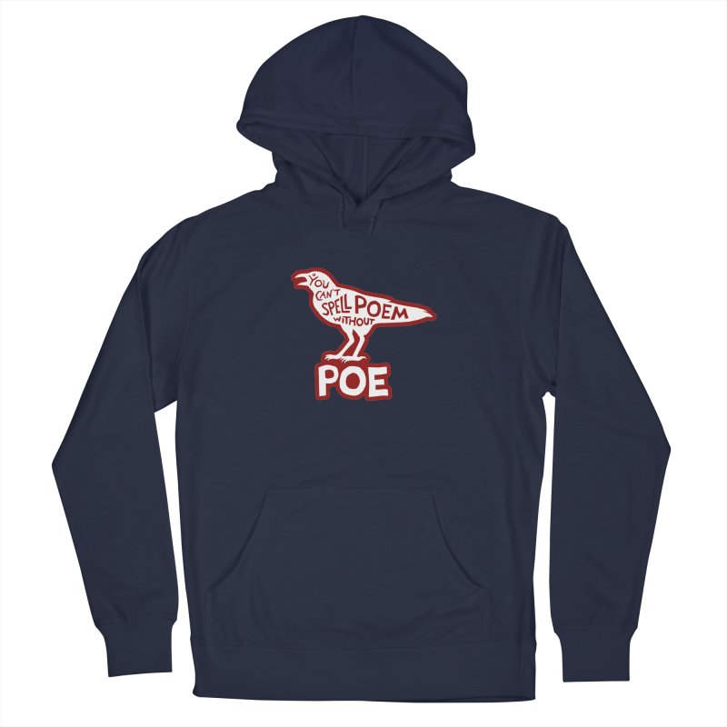 Poe(m) Men's Pullover Hoody by Lupi Art + Illustration