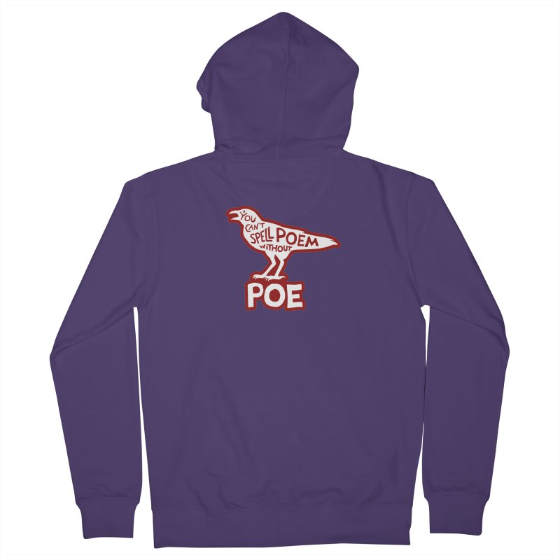 Poe(m) Women's Zip-Up Hoody by Lupi Art + Illustration