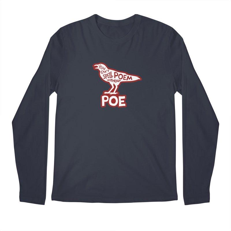 Poe(m) Men's Longsleeve T-Shirt by Lupi Art + Illustration
