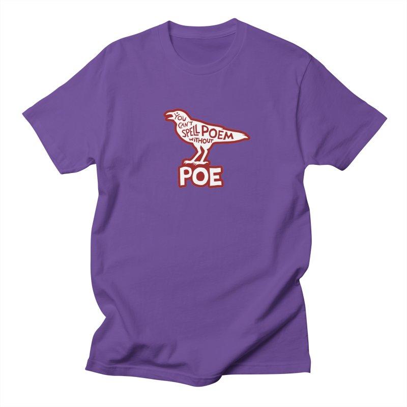 Poe(m) Men's T-Shirt by Lupi Art + Illustration