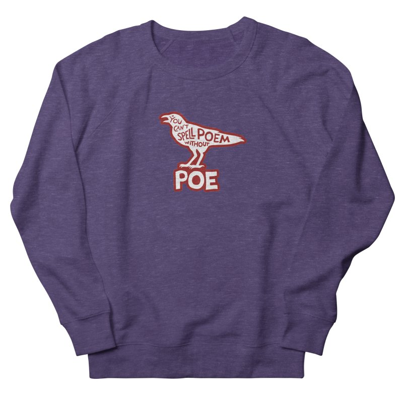 Poe(m) Men's French Terry Sweatshirt by Lupi Art + Illustration