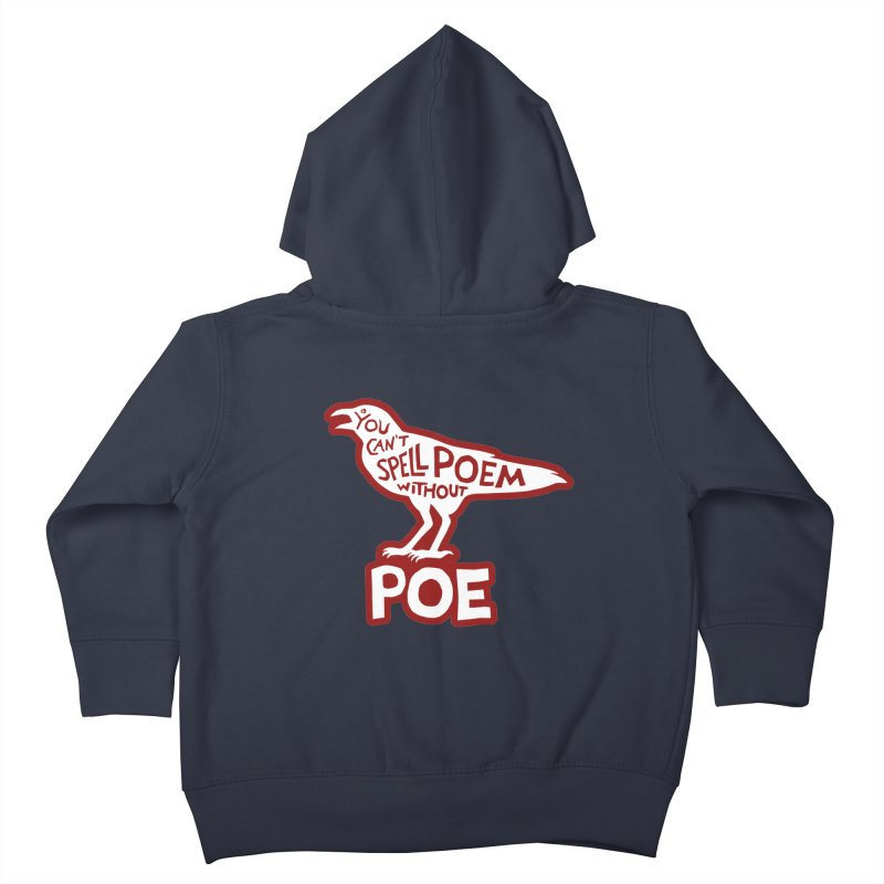 Poe(m) Kids Toddler Zip-Up Hoody by Lupi Art + Illustration