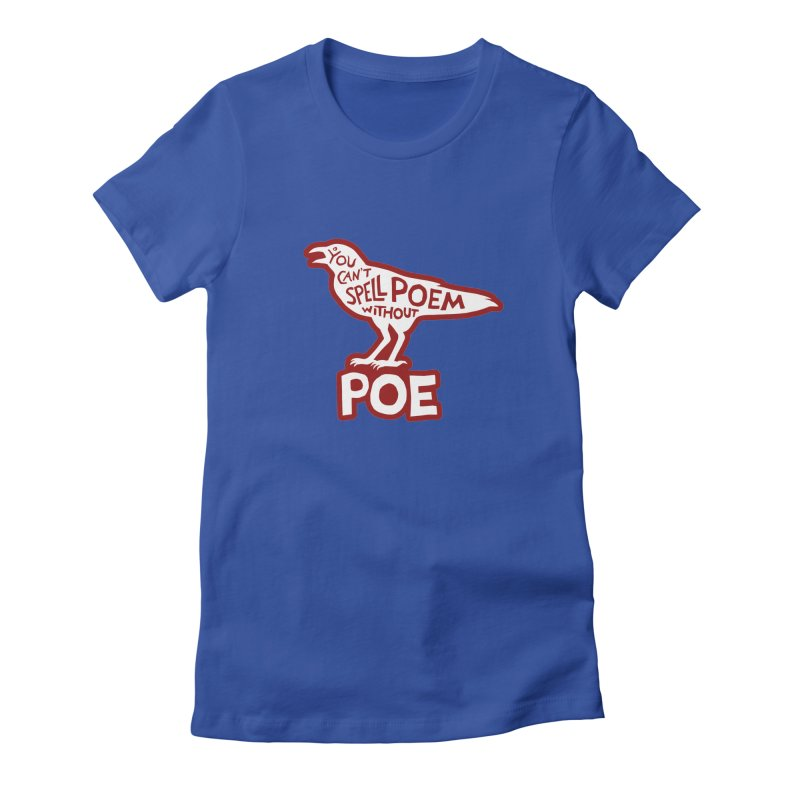 Poe(m) Women's Fitted T-Shirt by Lupi Art + Illustration