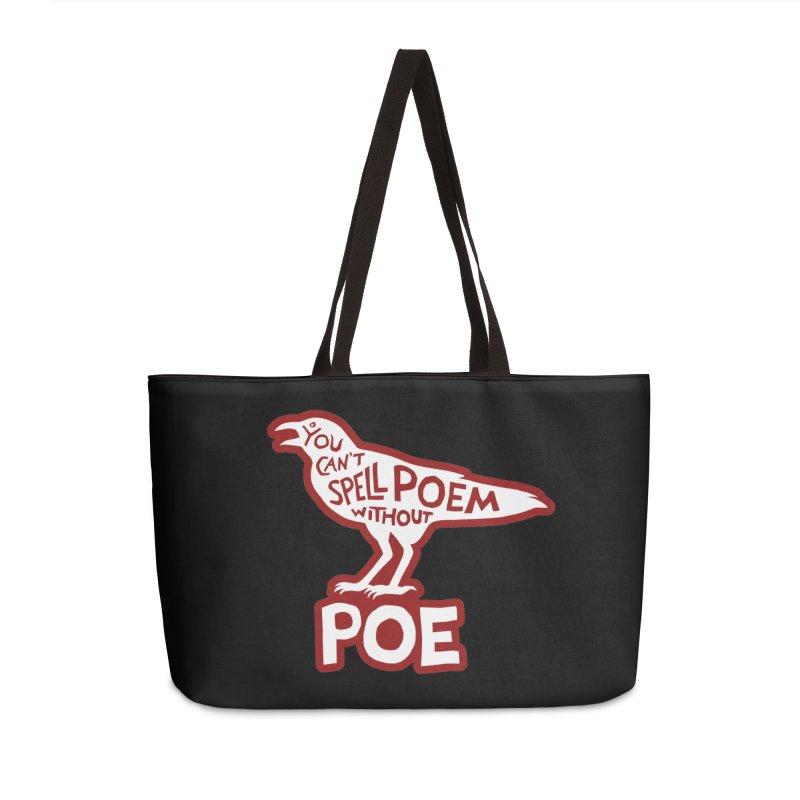 Poe(m) Accessories Weekender Bag Bag by Lupi Art + Illustration