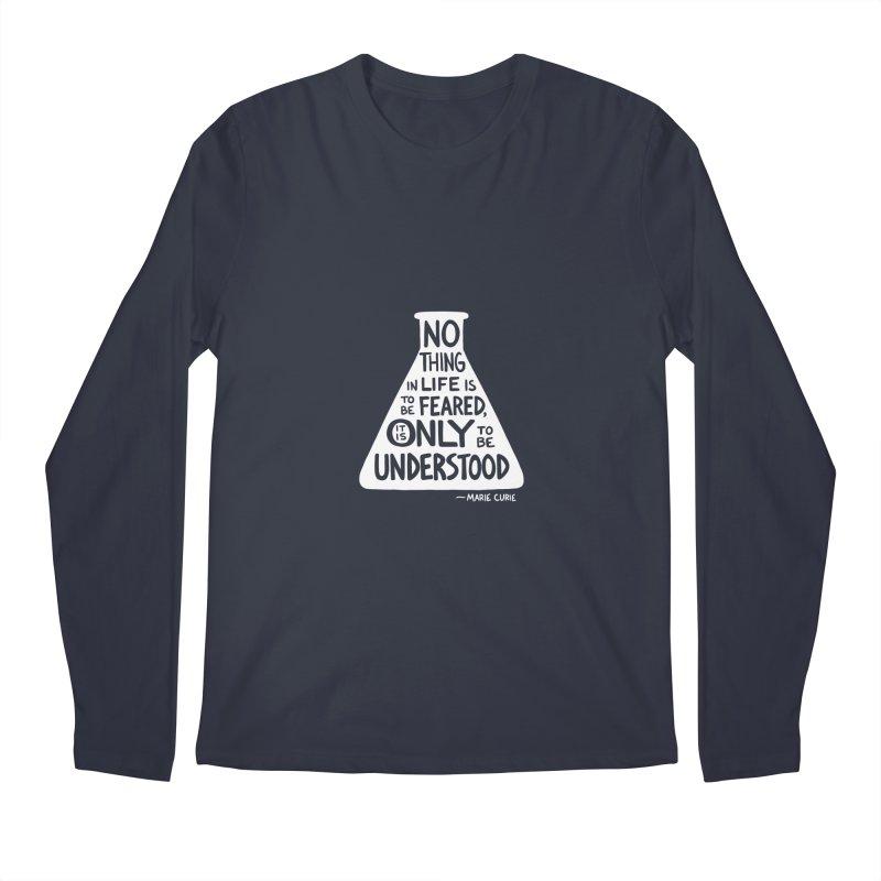 Curie Men's Longsleeve T-Shirt by Lupi Art + Illustration
