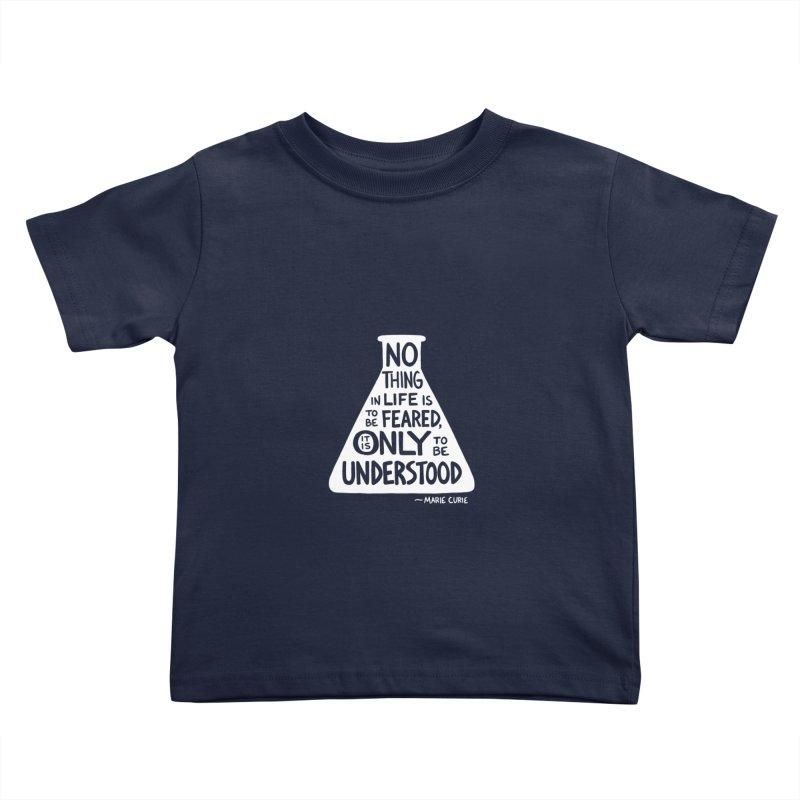 Curie Kids Toddler T-Shirt by Lupi Art + Illustration