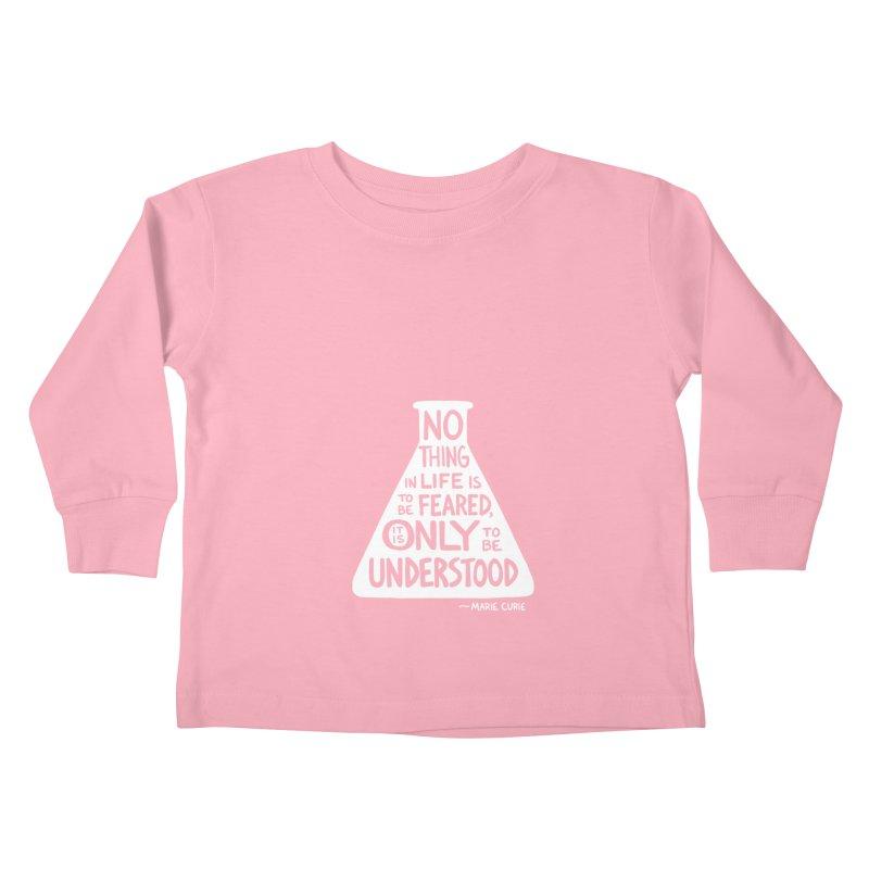 Curie Kids Toddler Longsleeve T-Shirt by Lupi Art + Illustration