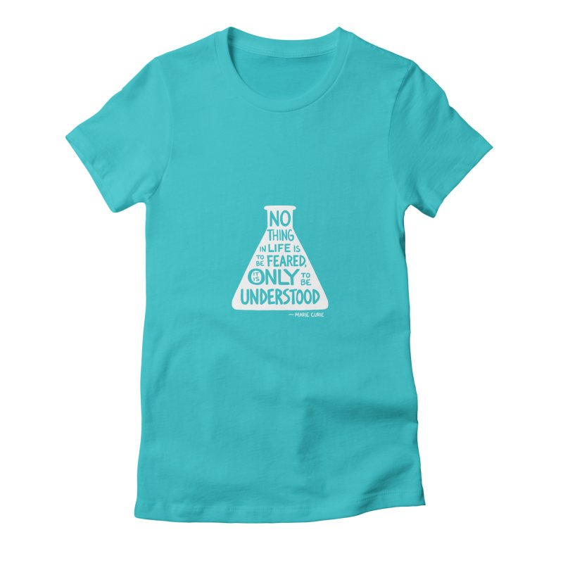 Curie Women's T-Shirt by Lupi Art + Illustration