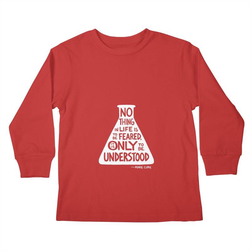 Curie Kids Longsleeve T-Shirt by Lupi Art + Illustration