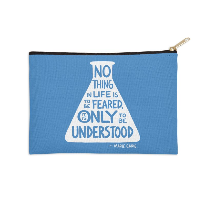 Curie Accessories Zip Pouch by Lupi Art + Illustration
