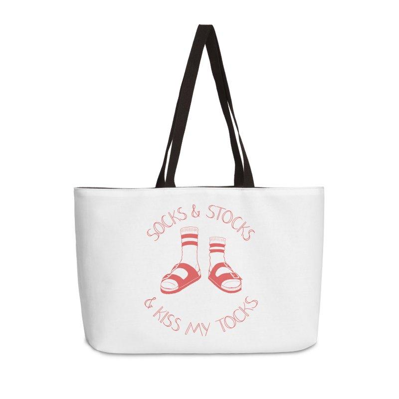 Socks 'n Stocks Accessories Weekender Bag Bag by Lupi Art + Illustration