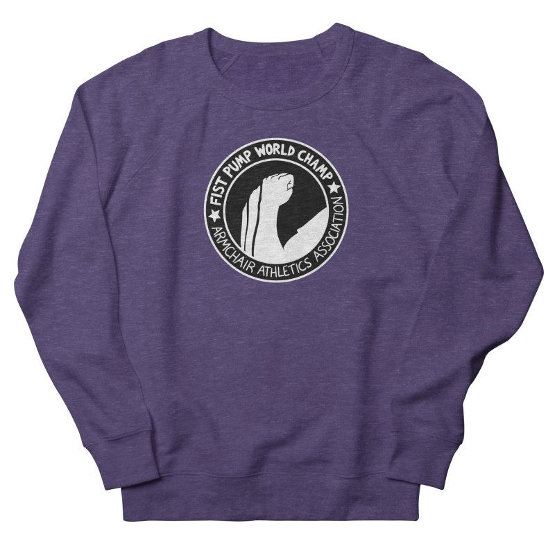 Fist Pump World Champ Women's Sweatshirt by Lupi Art + Illustration