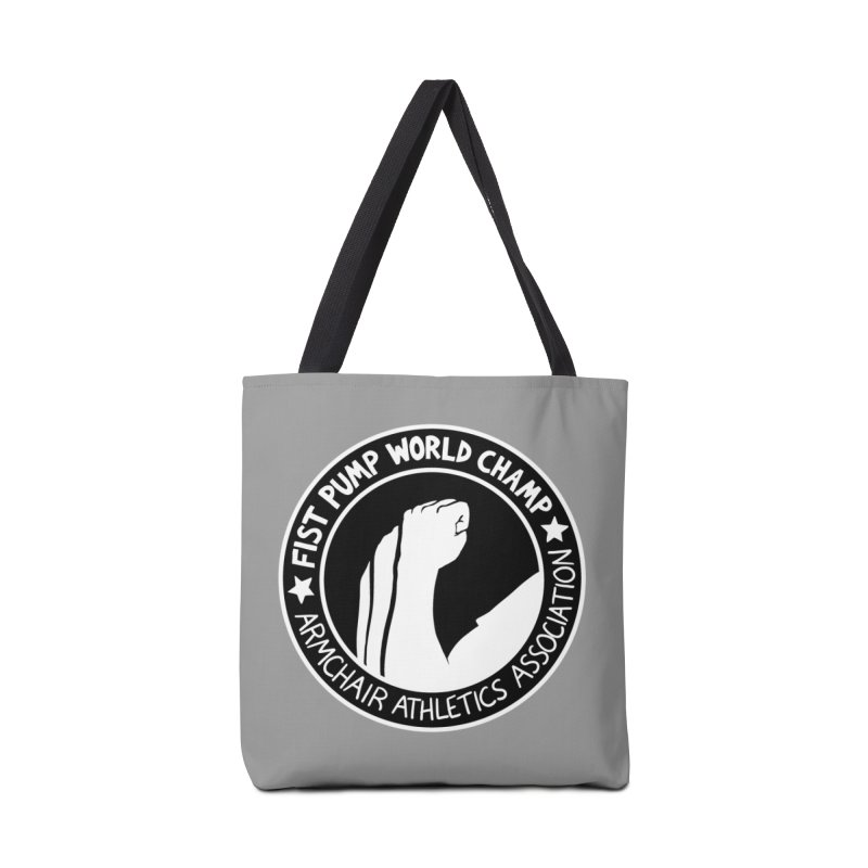 Fist Pump World Champ Accessories Bag by Lupi Art + Illustration