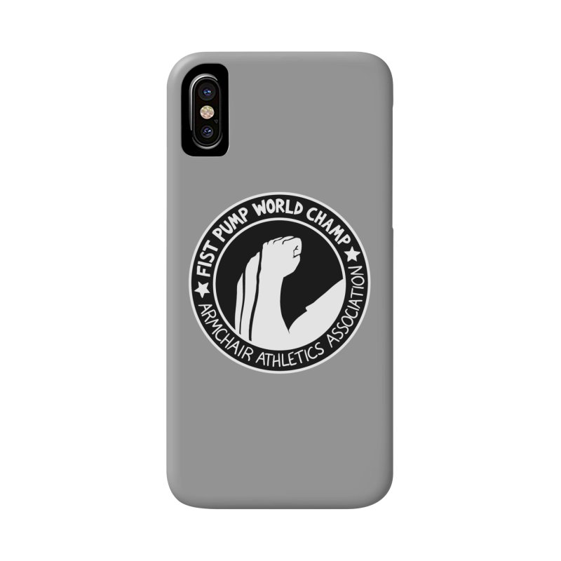 Fist Pump World Champ Accessories Phone Case by Lupi Art + Illustration