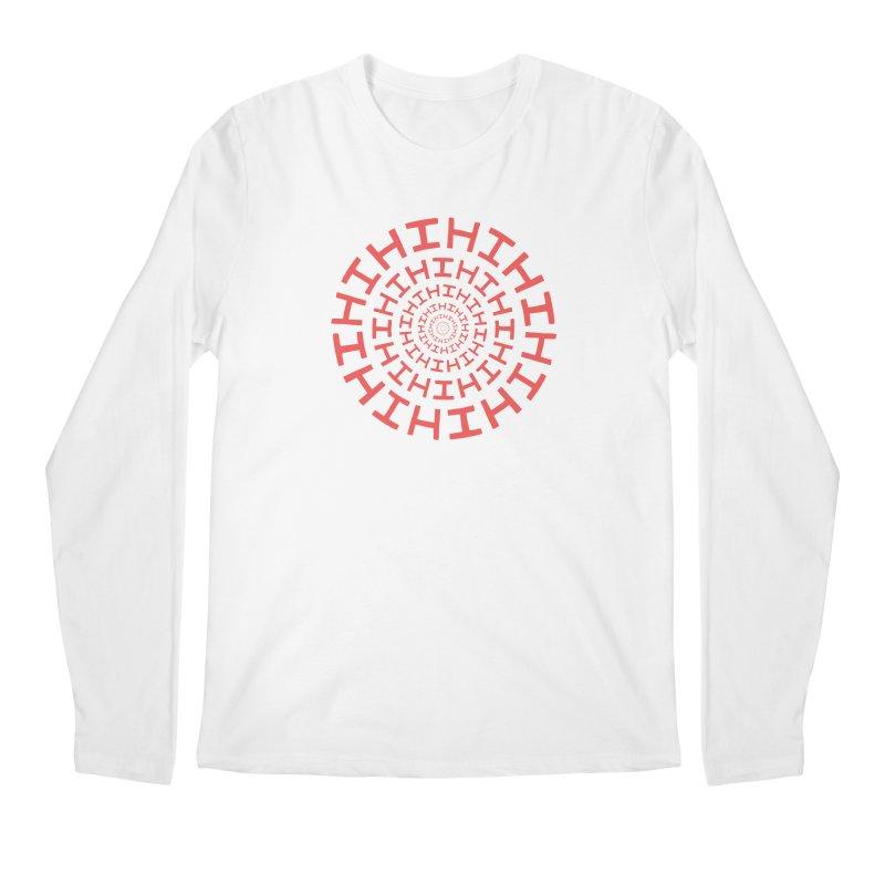 Hi hi hi (it's a red letter day) Men's Longsleeve T-Shirt by Lupi Art + Illustration