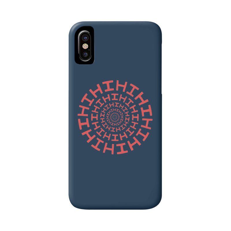 Hi hi hi (it's a red letter day) Accessories Phone Case by Lupi Art + Illustration