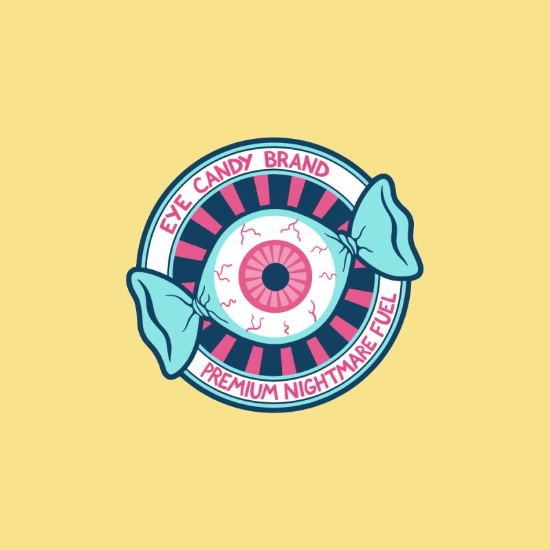 Eye Candy Badge Accessories Sticker by Lupi Art + Illustration