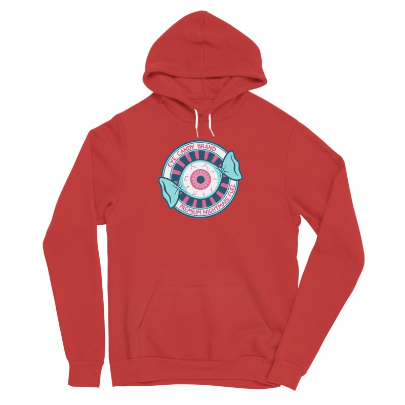 Eye Candy Badge Women's Pullover Hoody by Lupi Art + Illustration