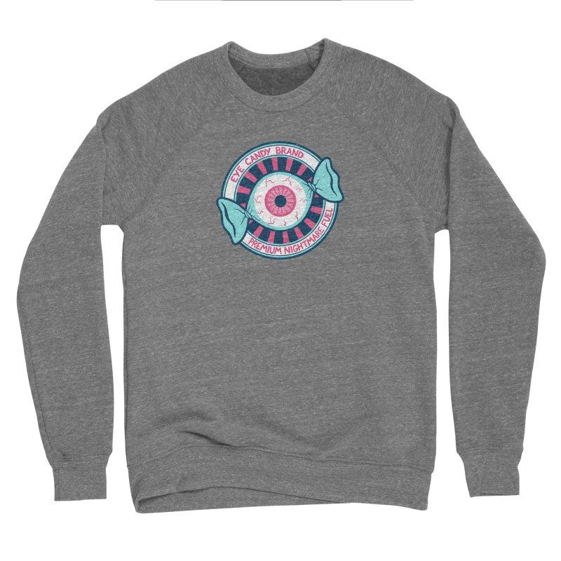 Eye Candy Badge Men's Sweatshirt by Lupi Art + Illustration