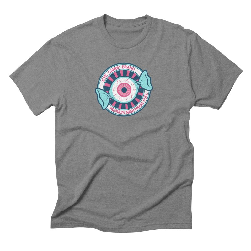 Eye Candy Badge Straight Cut T-Shirt by Lupi Art + Illustration