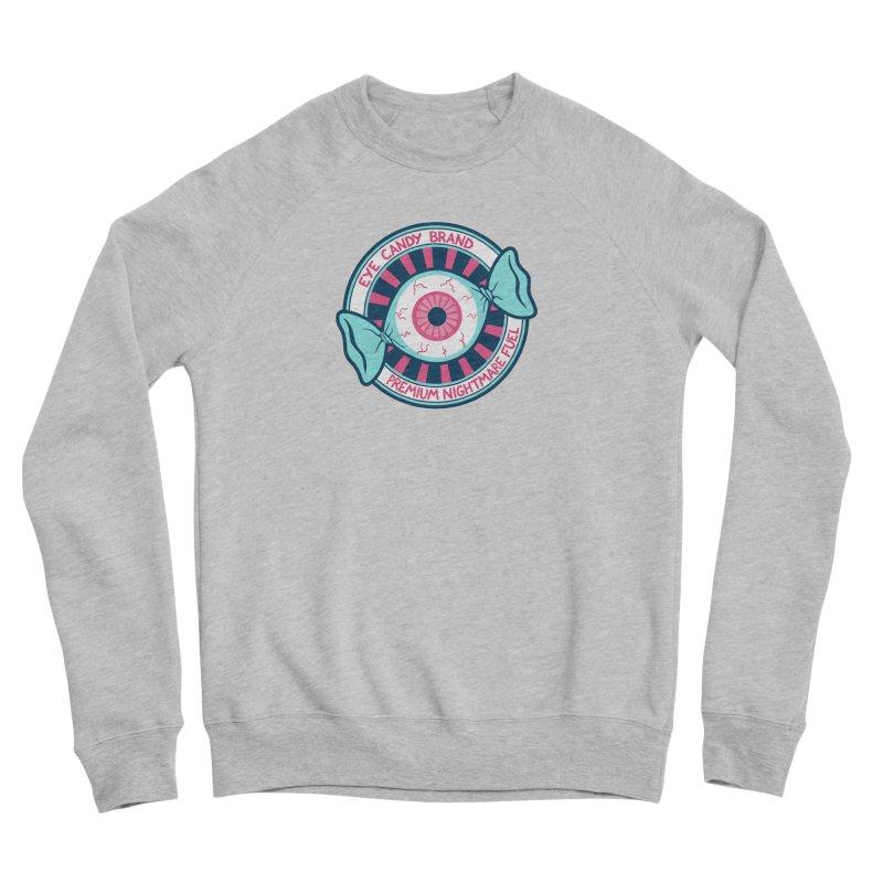Eye Candy Badge Men's Sponge Fleece Sweatshirt by Lupi Art + Illustration
