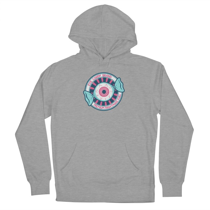 Eye Candy Badge Men's French Terry Pullover Hoody by Lupi Art + Illustration