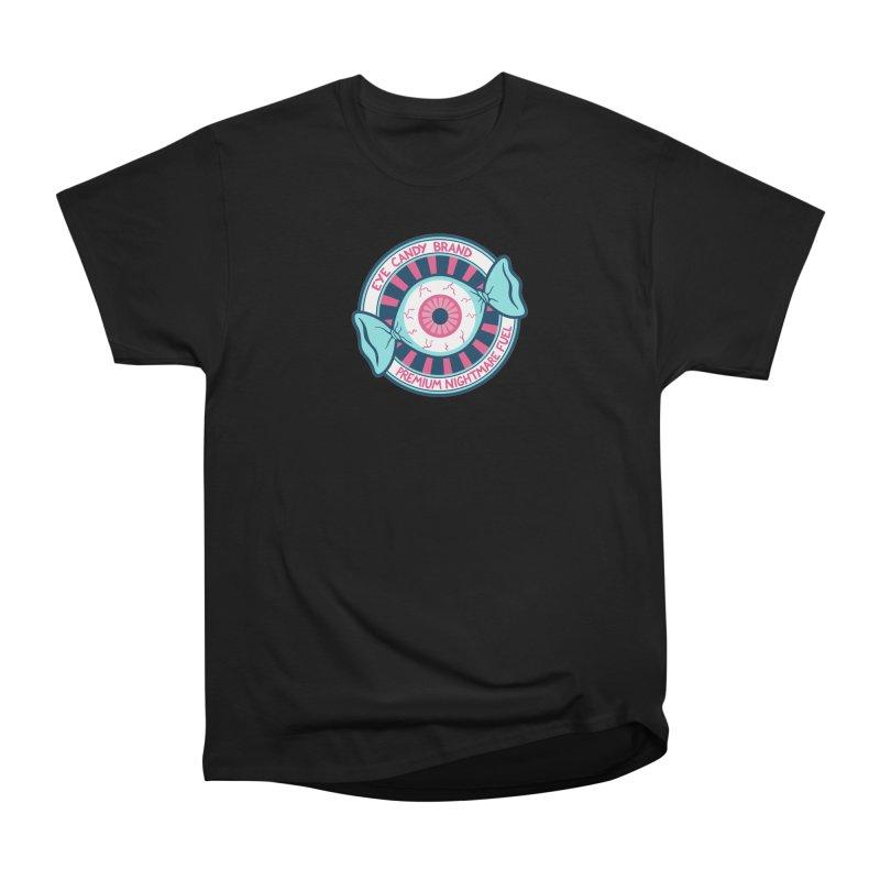 Eye Candy Badge Men's Heavyweight T-Shirt by Lupi Art + Illustration