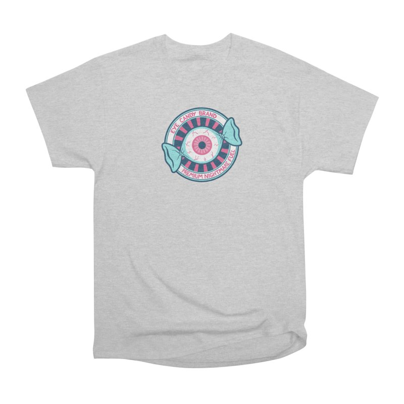 Eye Candy Badge Men's Heavyweight T-Shirt by Lupi Art + Illustration