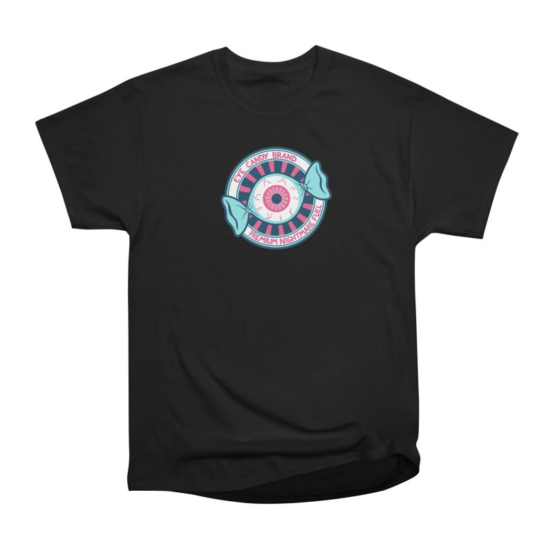 Eye Candy Badge Women's Heavyweight Unisex T-Shirt by Lupi Art + Illustration