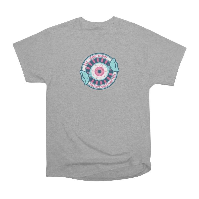 Eye Candy Badge Women's Heavyweight Unisex T-Shirt by Lupi Art + Illustration