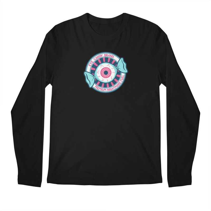 Eye Candy Badge Men's Longsleeve T-Shirt by Lupi Art + Illustration