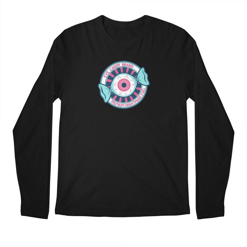 Eye Candy Badge Men's Regular Longsleeve T-Shirt by Lupi Art + Illustration