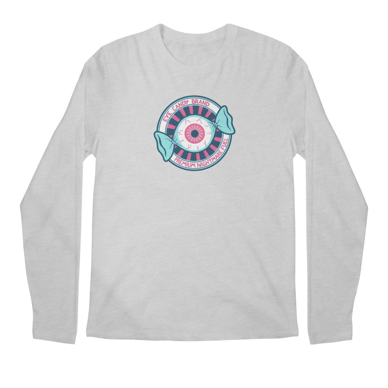 Eye Candy Badge Men's Regular Longsleeve T-Shirt by Lupi Art + Illustration