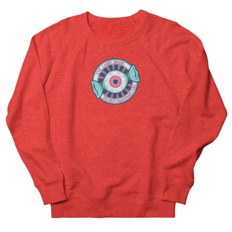 Eye Candy Badge Women's Sweatshirt by Lupi Art + Illustration