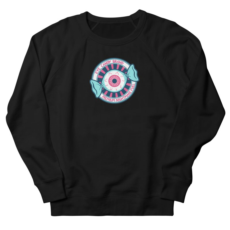 Eye Candy Badge Women's French Terry Sweatshirt by Lupi Art + Illustration