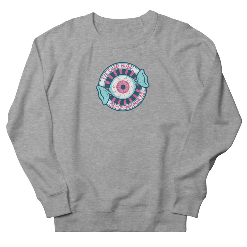 Eye Candy Badge Men's French Terry Sweatshirt by Lupi Art + Illustration