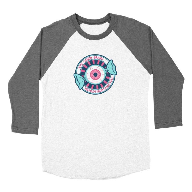 Eye Candy Badge Men's Baseball Triblend Longsleeve T-Shirt by Lupi Art + Illustration